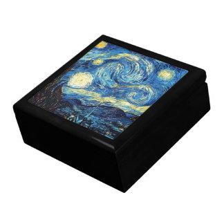 Caja De Regalo Noche estrellada de la pintura famosa de Van Gogh