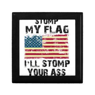 Caja De Regalo pare mi bandera que pisaré fuerte su