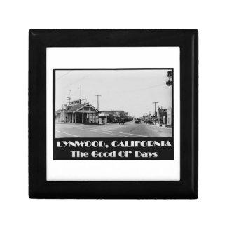 Caja De Regalo Parte posterior de Lynwood California cuando