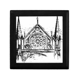 Caja De Regalo Pintura gótica de la iglesia