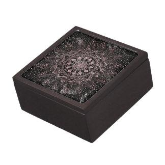 Caja De Regalo Puntos color de rosa elegantes de la mandala del