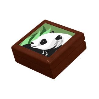 Caja De Regalo Regalos del amante del oso de panda