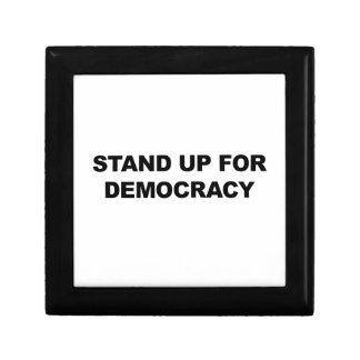 Caja De Regalo Represente para arriba democracia