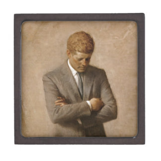 Caja De Regalo Retrato oficial de la Casa Blanca de John F. Kenne
