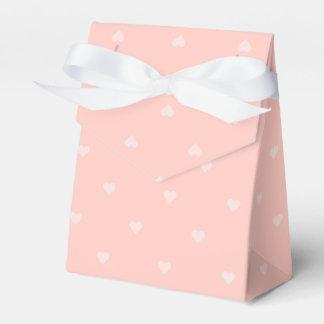 Caja de regalo rosada del corazón