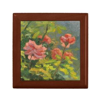 Caja De Regalo Rosas rosados en la puesta del sol