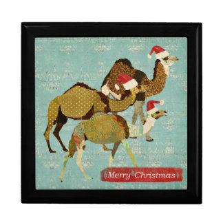 Caja de regalo sabia de tres navidad de los camell