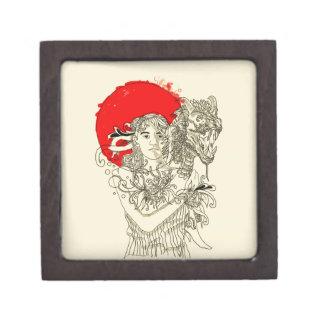 Caja De Regalo señora del dragón