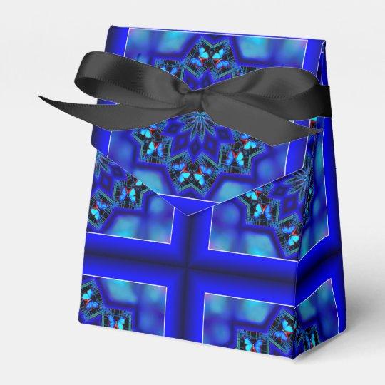 Caja de regalo social de la tienda de la mariposa