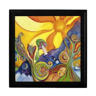 Caja De Regalo Sol Alicia ideal en arte de la fantasía del país