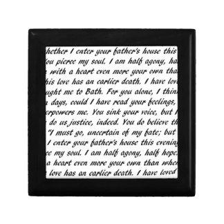 Caja De Regalo Texto de la persuasión