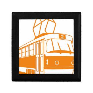 Caja De Regalo Transporte del tranvía eléctrico