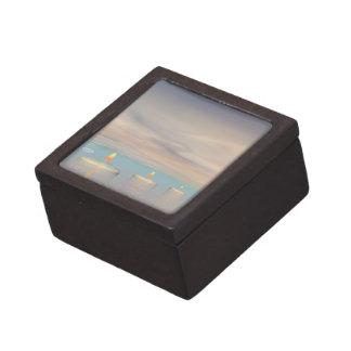 Caja De Regalo z+Pasos de la vela - 3D rinden