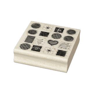 Caja de sello del caramelo del el día de San