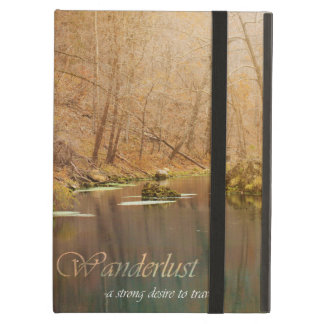 Caja del aire de Ipad del Wanderlust