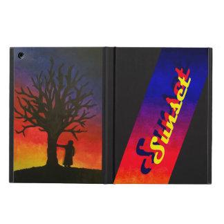 Caja del aire del iPad de la puesta del sol sin Funda Para iPad Air