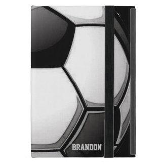 Caja del aire del iPad del diseño del fútbol iPad Mini Cobertura