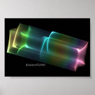 Caja del arco iris póster