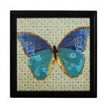Caja del arte de la mariposa de Boho Cajas De Recuerdo