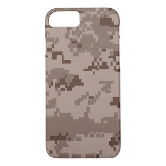 Caja del camuflaje iPhone7 del desierto del Cuerpo Funda Para iPhone 8/7