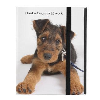 Caja del cojín 2/3/4 de ICase I del perrito iPad Funda