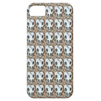 caja del cráneo de dia del muerte iPhone 5 cárcasas