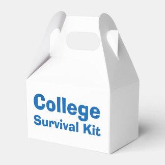 Caja del equipo de supervivencia de la