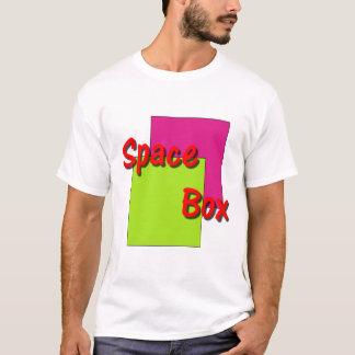 Caja del espacio camiseta