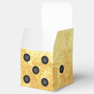 Caja del favor de fiesta de los dados de Bunco del