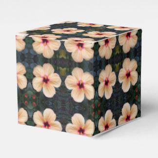 caja del favor de la flor del melocotón