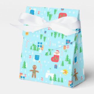 Caja del favor de la tienda de las Felices Navidad