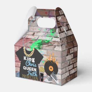 Caja Para Regalos caja del favor del aguilón de la fiesta de
