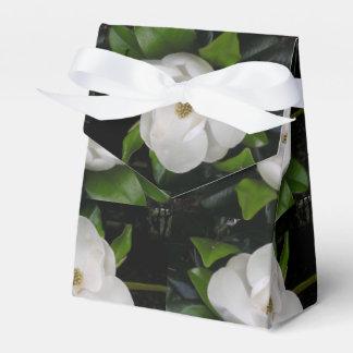 Caja del favor del flor de la magnolia