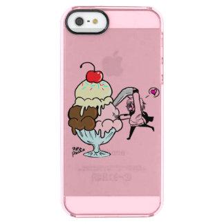 Caja del helado funda transparente para iPhone SE/5/5s