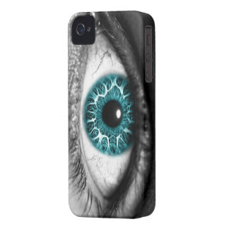 Caja del ojo azul iphone4 Case-Mate iPhone 4 cárcasas