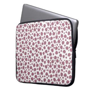 Caja del ordenador portátil de la flor funda para portátil