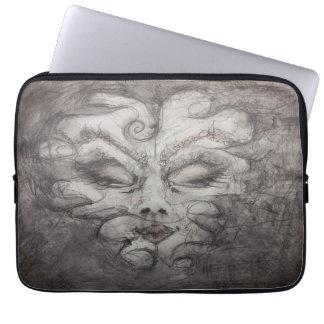 Caja del ordenador portátil de la neblina de funda para portátil