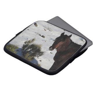 Caja del ordenador portátil del caballo funda para portátil
