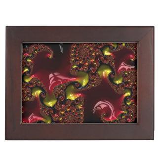 Caja del recuerdo con 3 ornamentos dimensionales