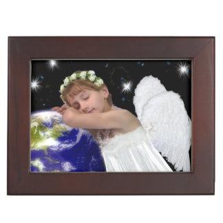 Caja del recuerdo del ángel