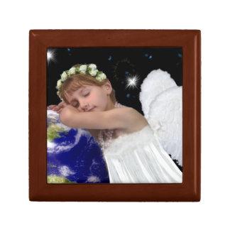 Caja del recuerdo del ángel de guarda