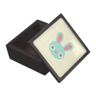 Caja del recuerdo del conejito