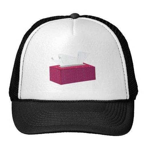 Caja del tejido gorras