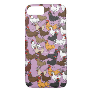 Caja del teléfono celular/cubierta - púrpura funda para iPhone 8/7