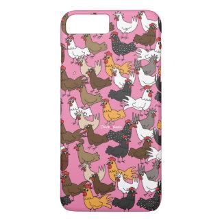 Caja del teléfono celular/cubierta - rosa funda para iPhone 8 plus/7 plus