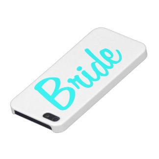 Caja del teléfono celular de la novia iPhone 5 carcasas