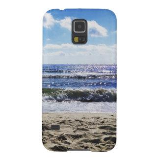 Caja del teléfono celular de la playa carcasa galaxy s5