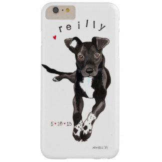 Caja del teléfono celular del retrato del mascota funda barely there iPhone 6 plus