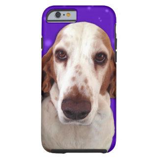 Caja del teléfono de Basset Hound Funda Resistente iPhone 6