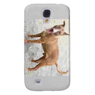 Caja del teléfono de bull terrier del inglés funda samsung s4
